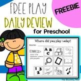 Free Play Choice Boards {Preschool FREEBIE}