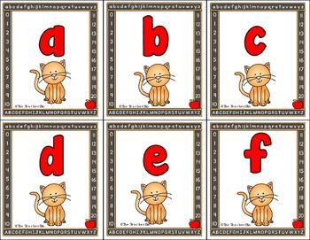 Uppercase/Lowercase alphabet matching game