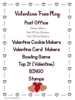 Kindergarten Valentine's Day Post Office Workshop