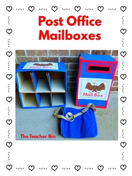 Valentine's Day Post Office Dramatic Play