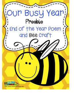 Free Poem and Bee Craftivity