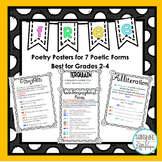 Free Poetry Posters to Explain Poetic Forms