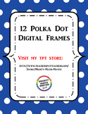 Polka Dot Digital Frames
