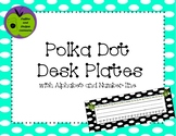 Free Polka Dot Name Tags