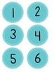 Polka Dot Number Labels