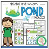 Free Pond Printable for Preschool