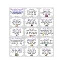 Free Positive Behavior Reward Cards!