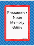 Free Possessive Nouns Memory Game