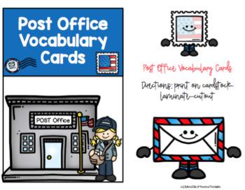 Free Postal Vocabulary Cards