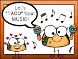 """Free Poster - Let's """"TACO"""" 'bout Music!"""