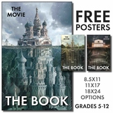 Free Posters for High School & Middle School Classrooms, English Class Decor