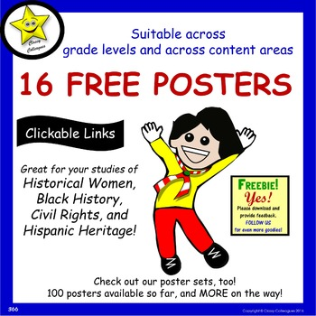 Free Posters of Famous Americans