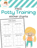 Free Potty Training Sticker Chart