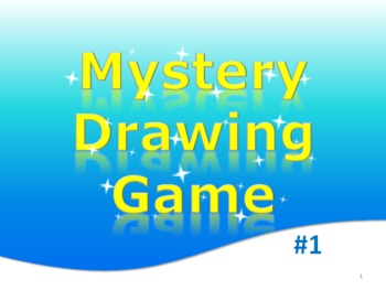 Free PowerPoint Mystery Drawing Game Elementary English, Math, Art