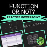 Function or Not? PowerPoint Activity