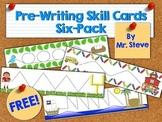 Free Pre-Writing Skill Cards