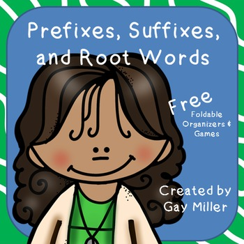 Free Prefixes, Suffixes, and Root Words
