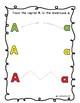 Free Preschool Letter A Mini Book