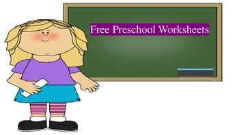 Free Preschool Pre-Writing WS