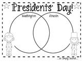 Free Presidents' Day Venn Diagram