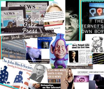 Free Press First Amendment ~ FREE POSTER