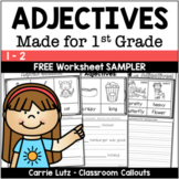 Free Preview Adjective Worksheets for the Primary Grades