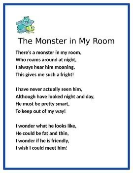 Free Preview ...Fluency Poems common core aligned