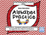 Free Preview Interactive Alphabet Practice Power Point Program