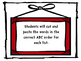 Free Preview: Second Grade Benchmark Literacy Spelling ABC
