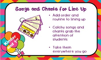 Free Preview of Chants and Songs for Lining Up