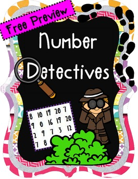 Free Preview of Number Detectives