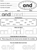 Free Preview of Pre-Primer Sight Word Worksheets