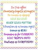 Free Pride Office or Classroom Display! (BILINGUAL)