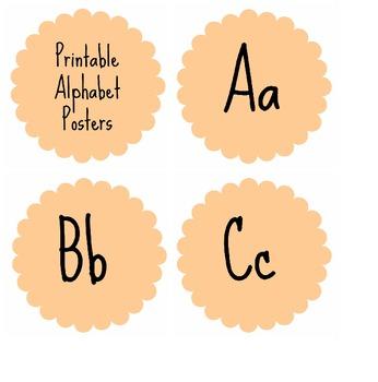 Free Printable Alphabet Posters