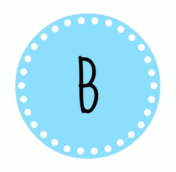 Free Printable Banner (Number & Letters)