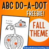 Fall Theme ABC Do-A-Dot