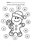 Free Printable Gingerbread Dice Game!