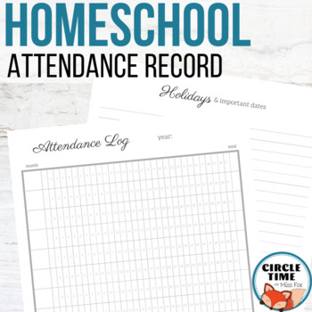 picture regarding Free Printable Homeschool Planner known as Homeschool Attendance Heritage Homeschool Planner Printable #freebiefriday