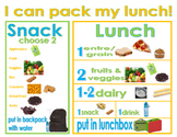 Free Printable- I can pack my lunch!