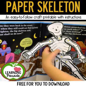 FREE Paper Skeleton Craft