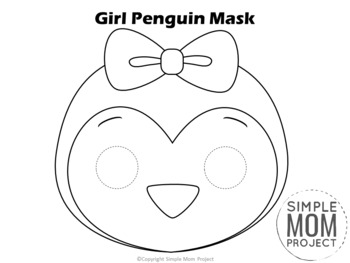 Penguin Template Cut Out from ecdn.teacherspayteachers.com