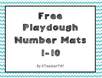graphic regarding Free Printable Playdough Mats named Free of charge Printable Playdough Amount Mats 1-10