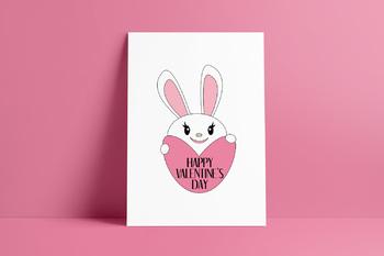 Free Printable Poster Happy Valentine's Day