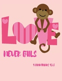 Free Printable Poster - Love Never Fails