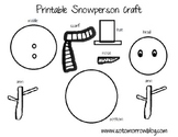 Free Printable Snowman Craft