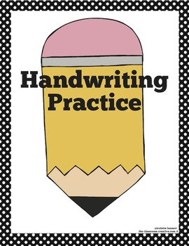Free Printable Teacher Binder and Spine Covers (Handwriting Practice)