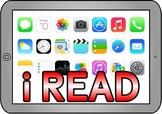 Free Printable iLEARN ipad themed teaching resource for Cl
