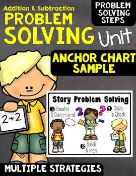Free Problem Solving Anchor Chart