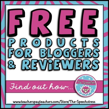 Free Products for Bloggers and Reviewers!
