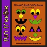 Free Pumpkin Decorating Kit {Clipart & Templates}